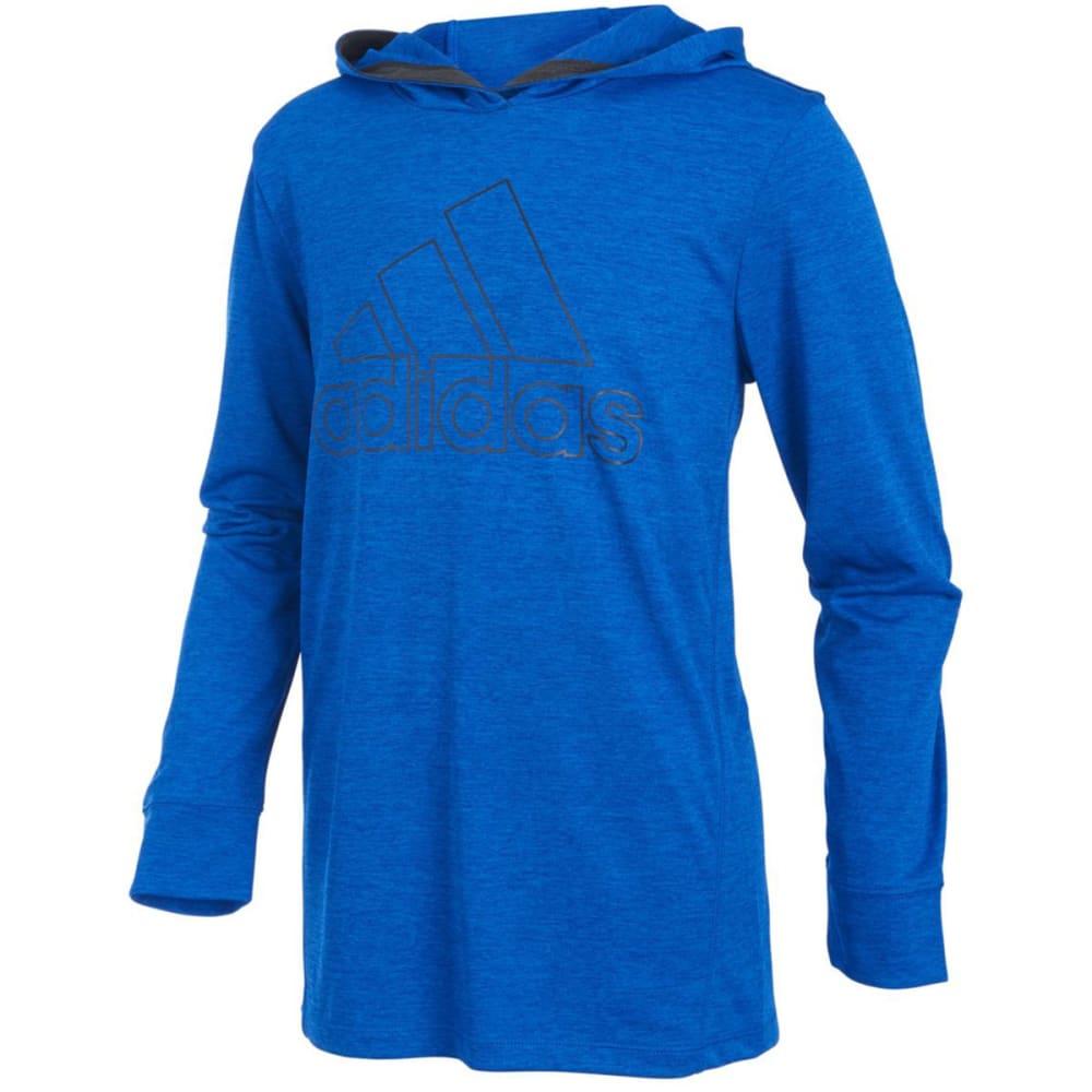 Adidas Big Boys' Coast To Coast Hooded Pullover - Blue, L