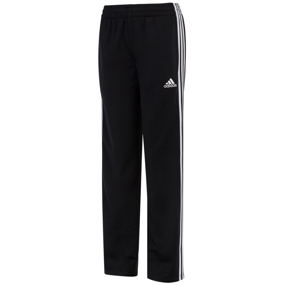 ADIDAS Big Boys' Iconic Tricot Pants - BLACK-AK01