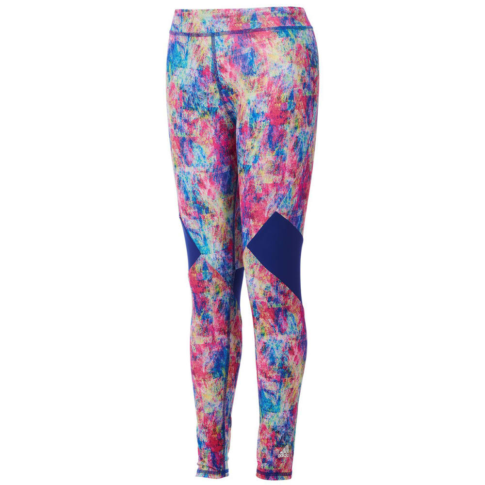 ADIDAS Big Girls' Believe This Tights - CUBST MLTI PNT-AP286