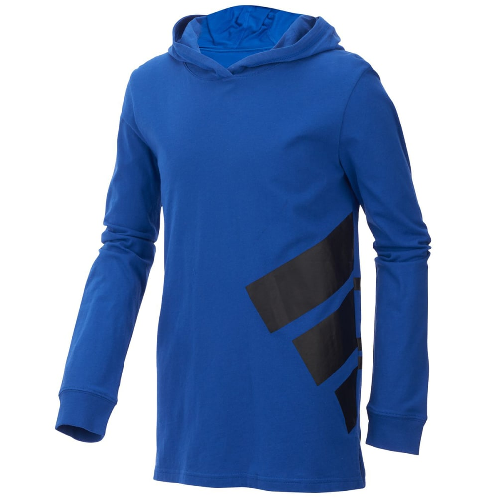 ADIDAS Little Boys' Branded Pullover Hoodie - COLL ROYAL AB107
