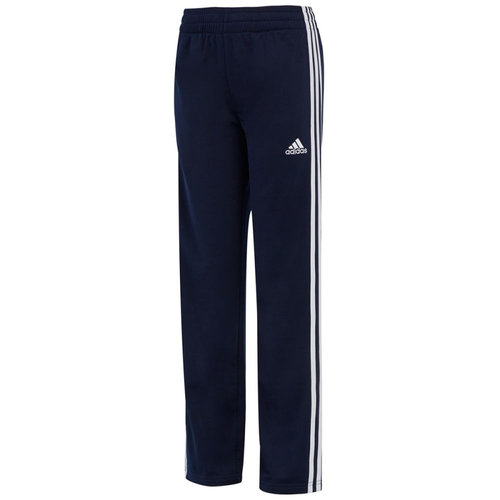 Adidas Little Boys' Iconic Tricot Pants - Blue, 4