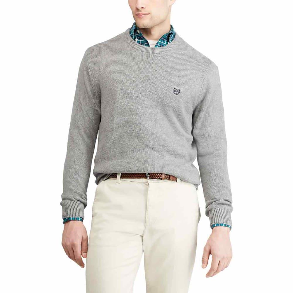 CHAPS Men's Cotton Crewneck Long-Sleeve Sweater M