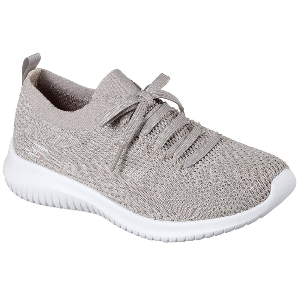 SKECHERS Women's Ultra Flex – Statements Sneakers - TAUPE-TPE