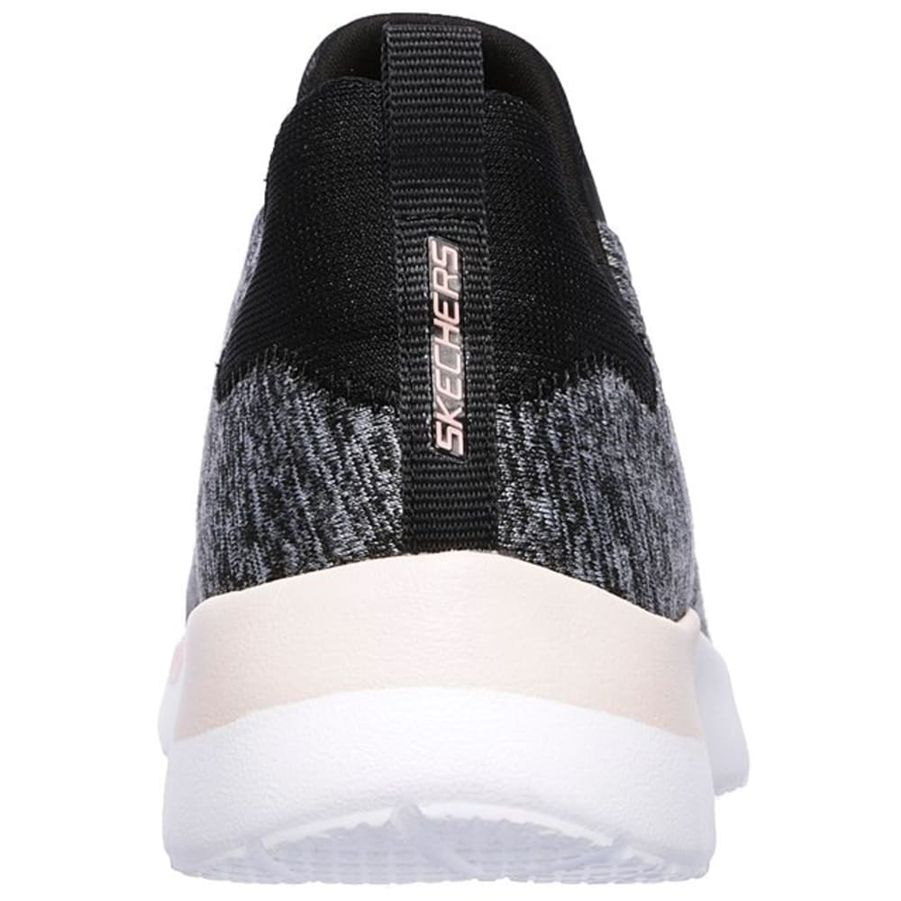 SKECHERS Women's Dynamight - Break-Through Sneakers - BLACK/CHARCOAL-BKCL