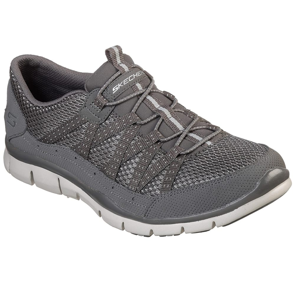 SKECHERS Women's Gratis – Strolling Sneakers - CHARCOAL-CCL