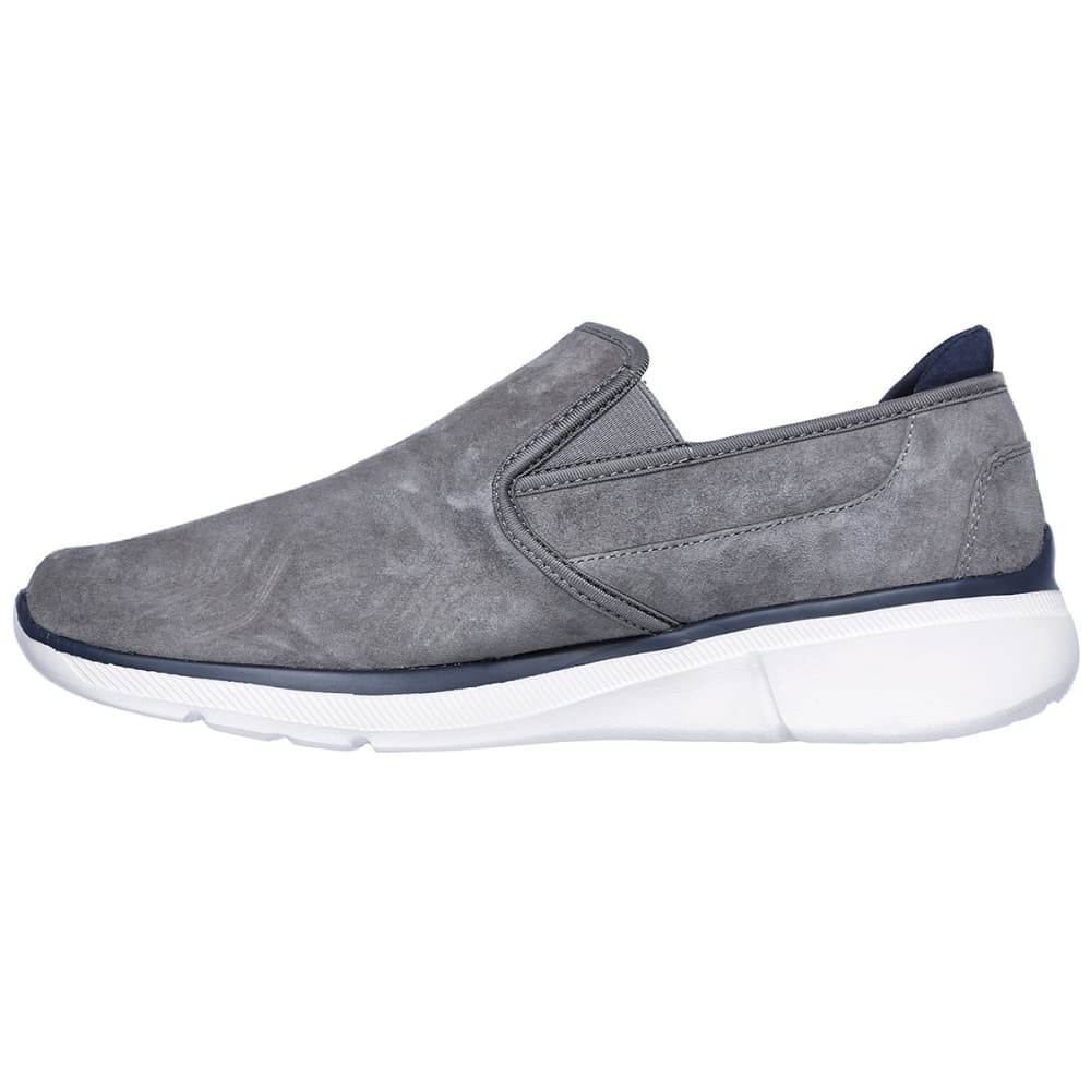 SKECHERS Men's Relaxed Fit: Equalizer 3.0 – Substic Casual Slip-On Shoes - CHARCOAL-CHAR
