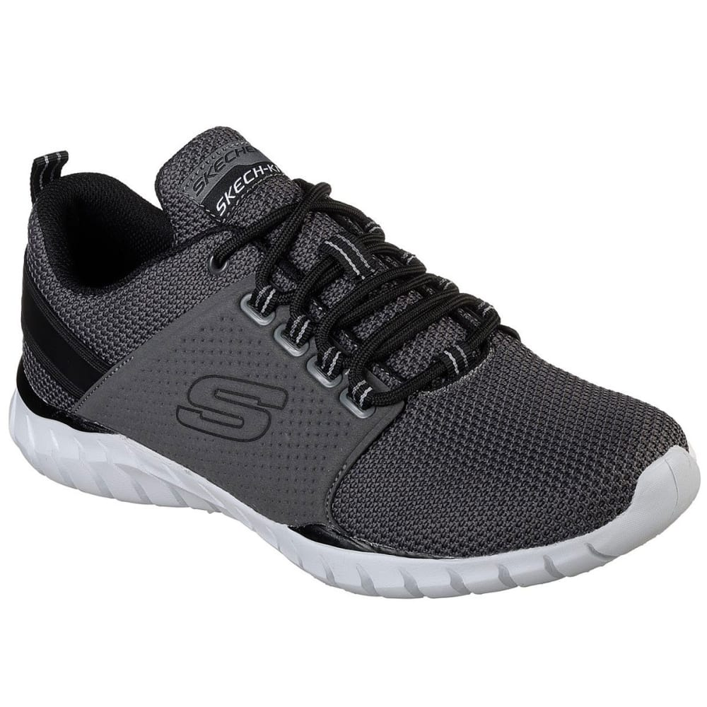 SKECHERS Men's Overhaul – Primba Sneakers - CHARCOAL-CCBK