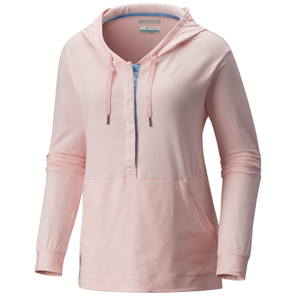 COLUMBIA Women's Reel Relaxed Hoodie - CHERRY BLOSSOM - 956