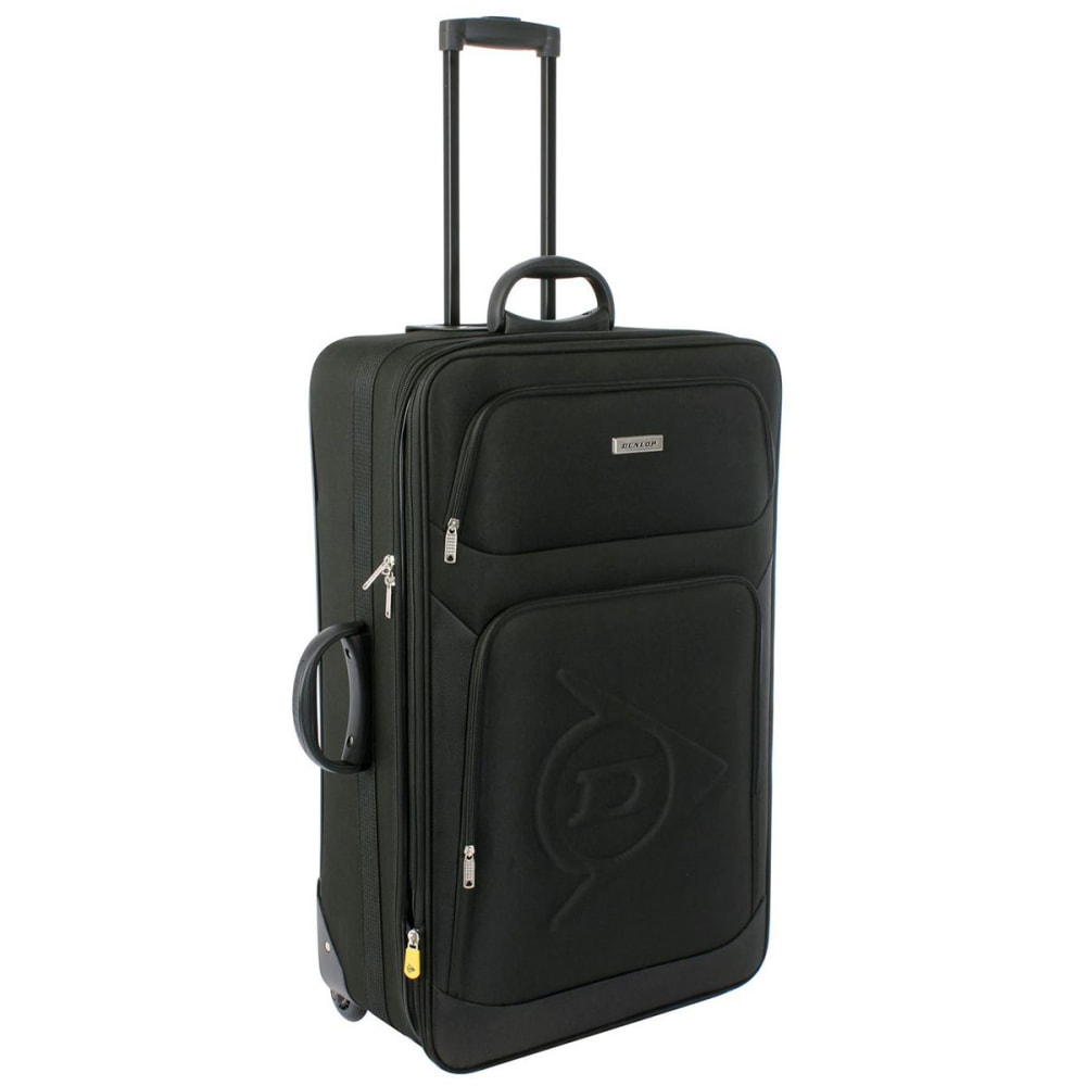 Dunlop 30 In. Trolley Suitcase - Black, 30IN / 76 CM