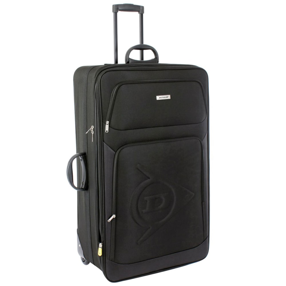 Dunlop 34 In. Trolley Suitcase - Black, 34IN / 86 CM