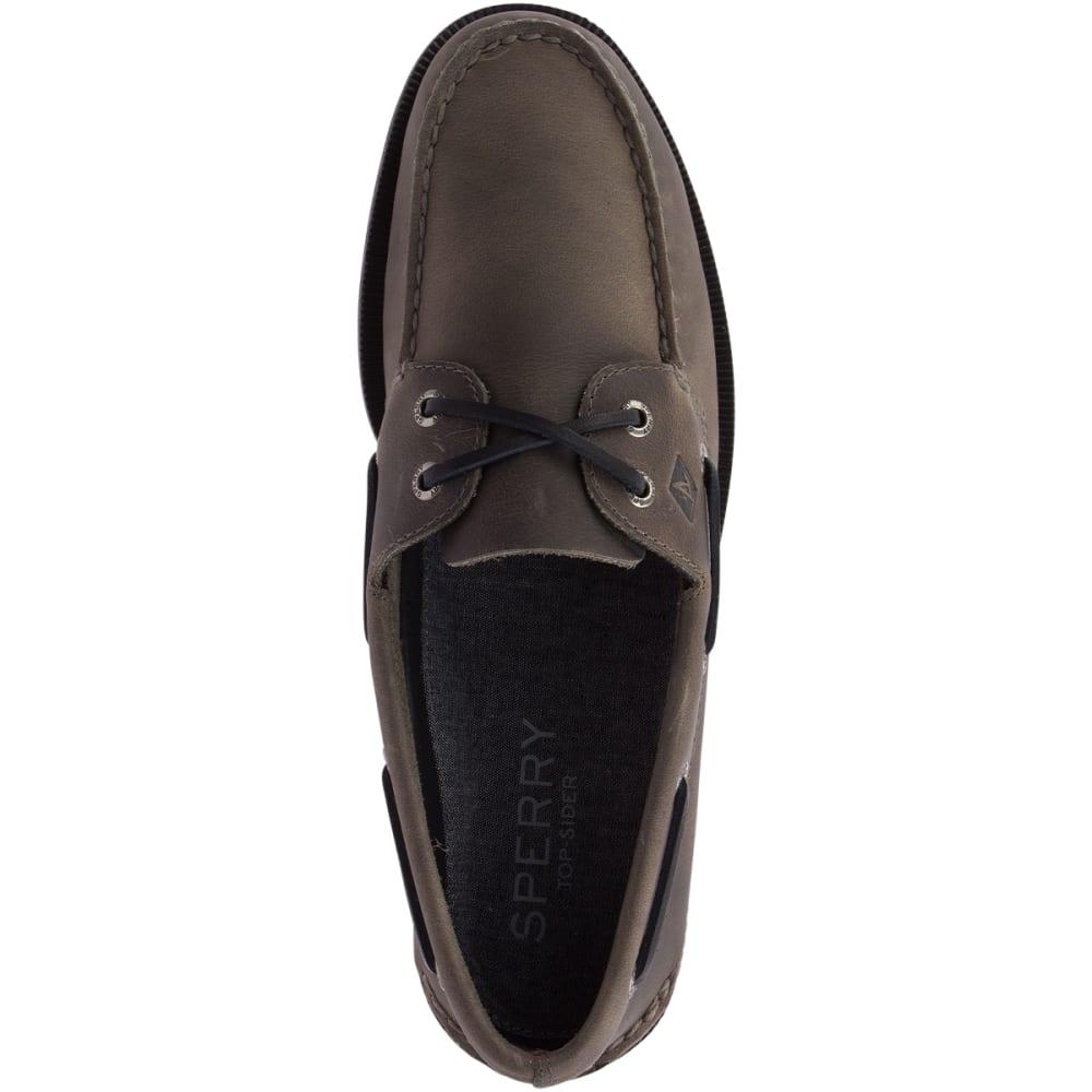 SPERRY Men's Authentic Original Richtown Boat Shoes - GREY-STS17987