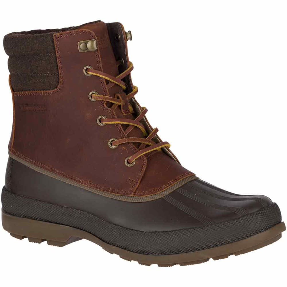 SPERRY Men's Cold Bay ICE+ Insulated Waterproof Storm Boots - TAN -STS18185