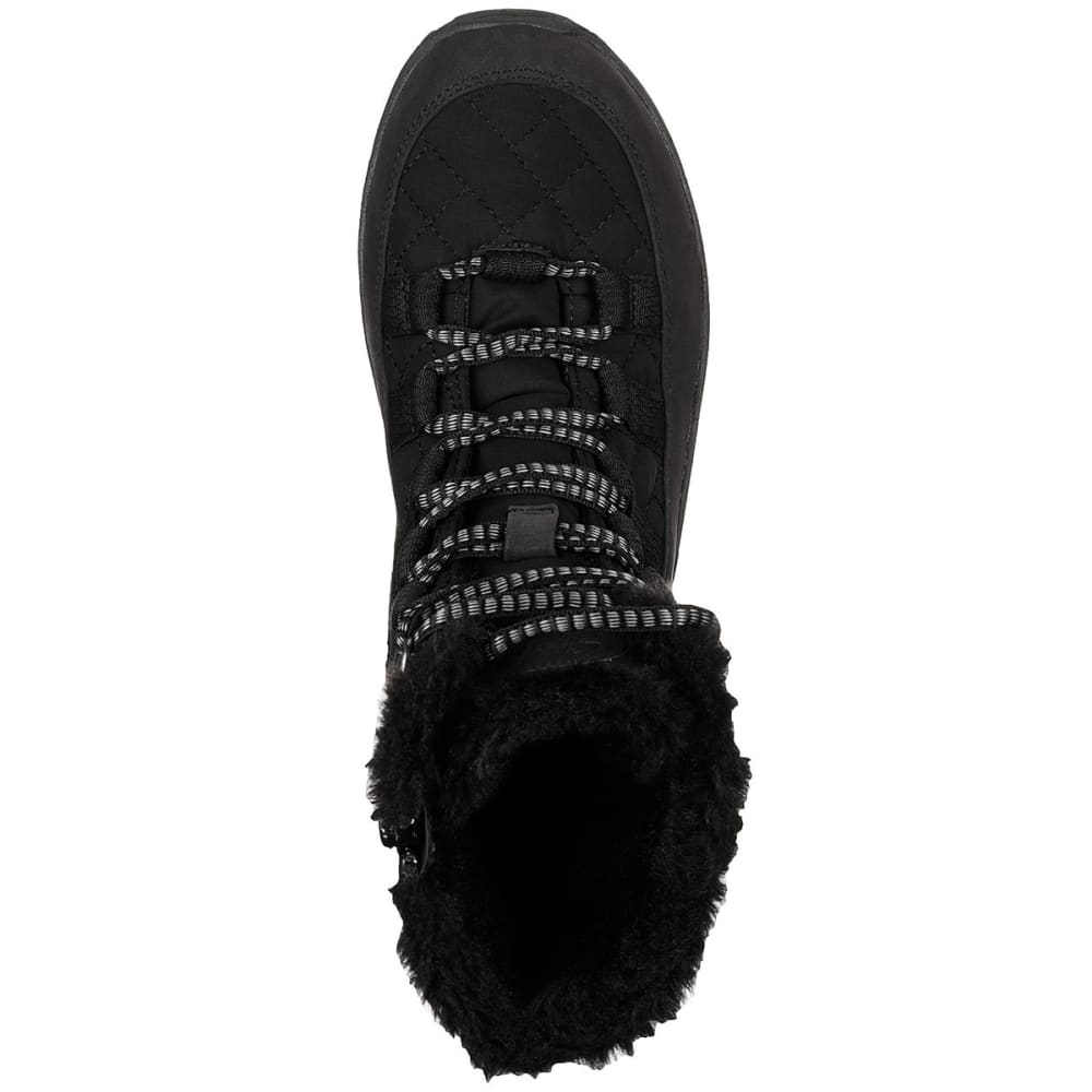 SKECHERS Women's Relaxed Fit: Reggae Fest - Moro Rock Winter Boots - BLACK-BLK