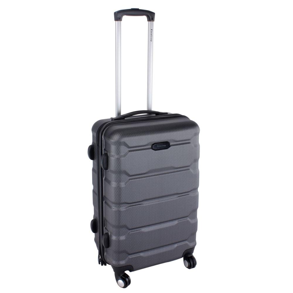FIRETRAP 24 in. Hard Suitcase - BLACK