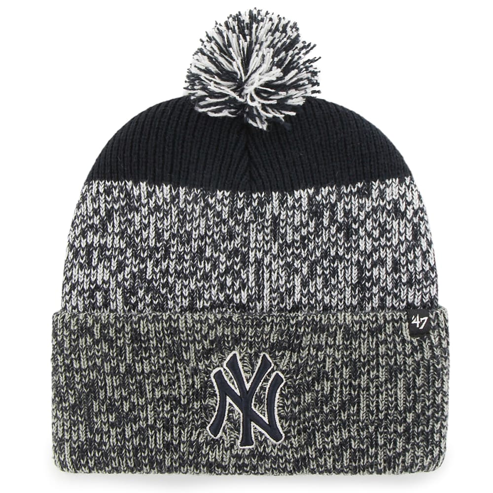 NEW YORK YANKEES '47 Static Knit Cuffed Pom Beanie - NAVY