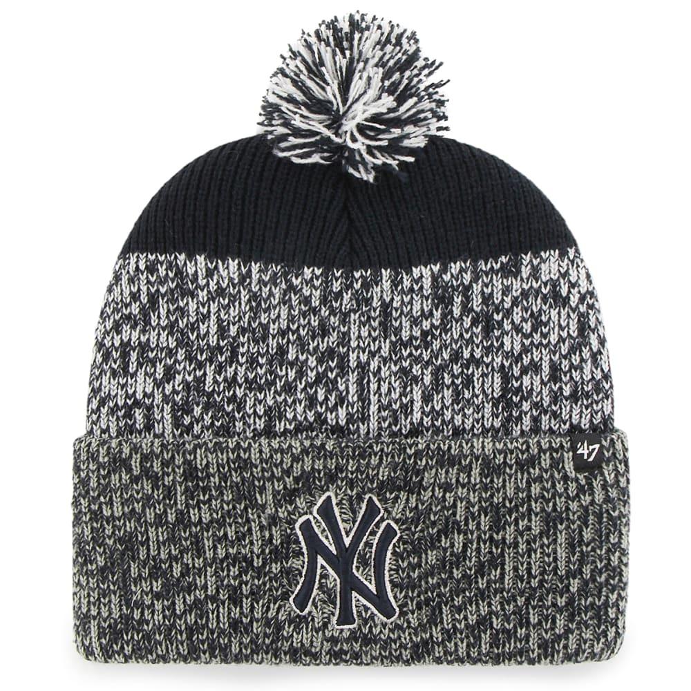 83615171f2e6e7 NEW YORK YANKEES '47 Static Knit Cuffed Pom Beanie