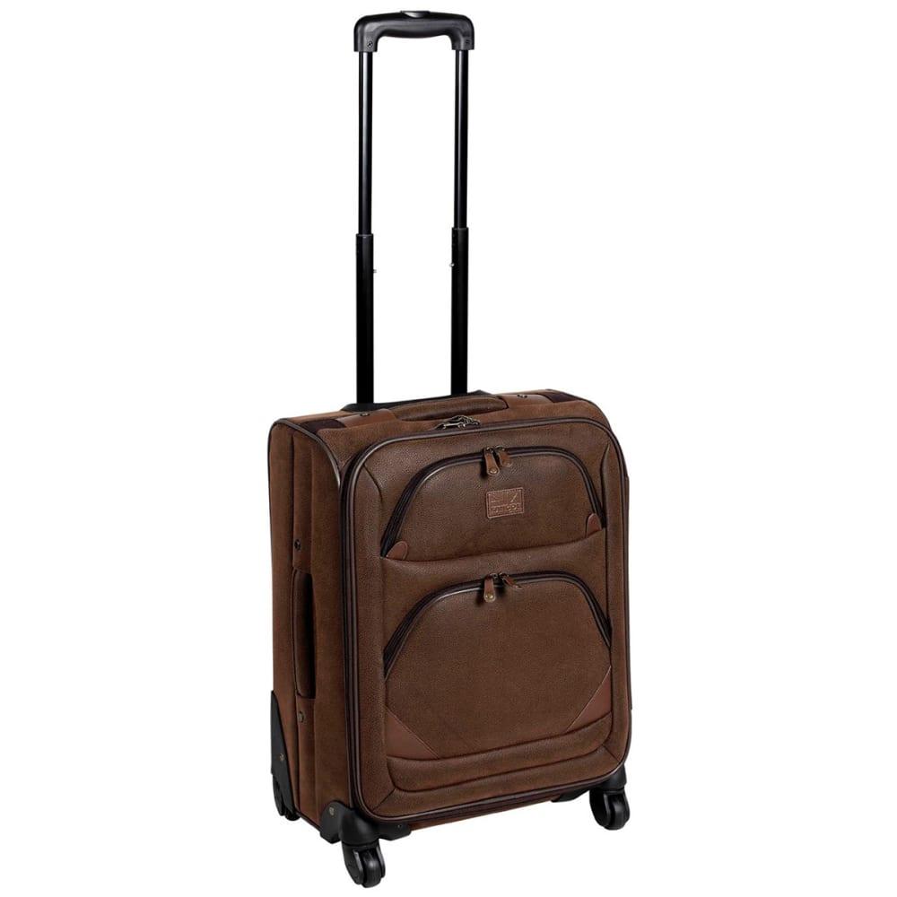 KANGOL 18 in. 4-Wheel Suitcase - BROWN