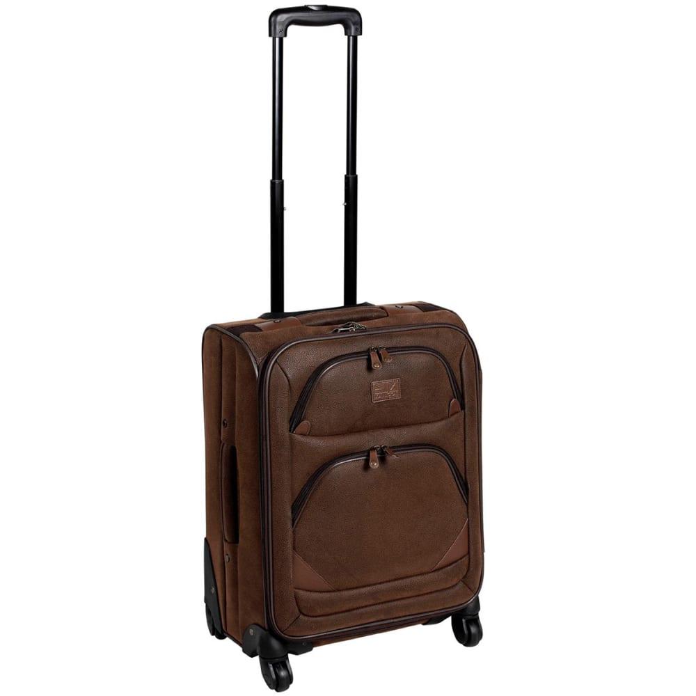 KANGOL 22 in. 4-Wheel Suitcase - BROWN