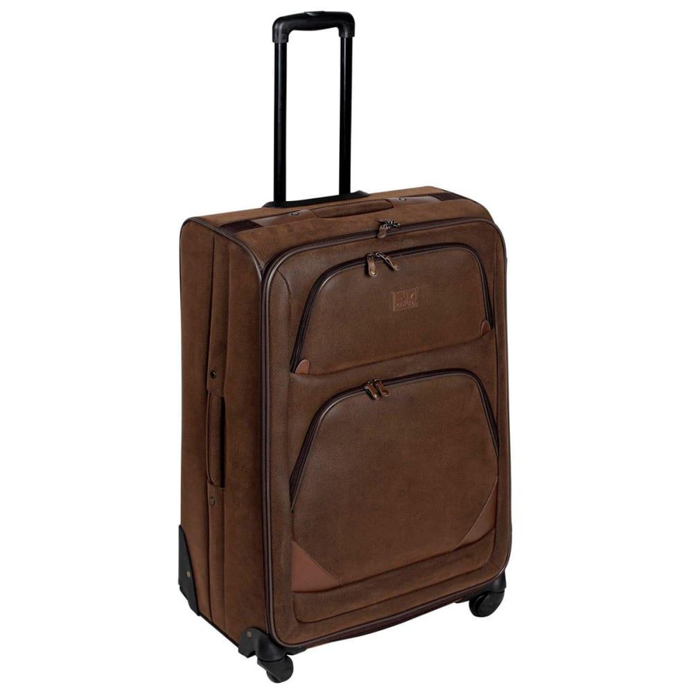 KANGOL 30 in. 4-Wheel Suitcase - BROWN
