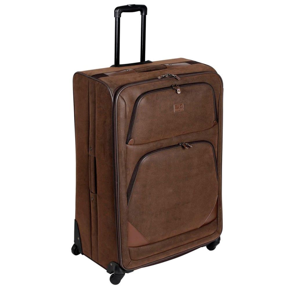 KANGOL 34 in. 4-Wheel Suitcase - BROWN