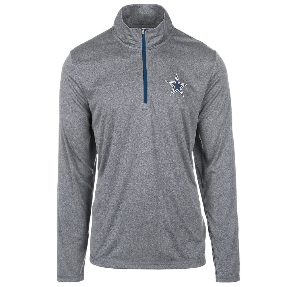 DALLAS COWBOYS Men's Arnie 1/4 Zip Pullover - CHARCOAL