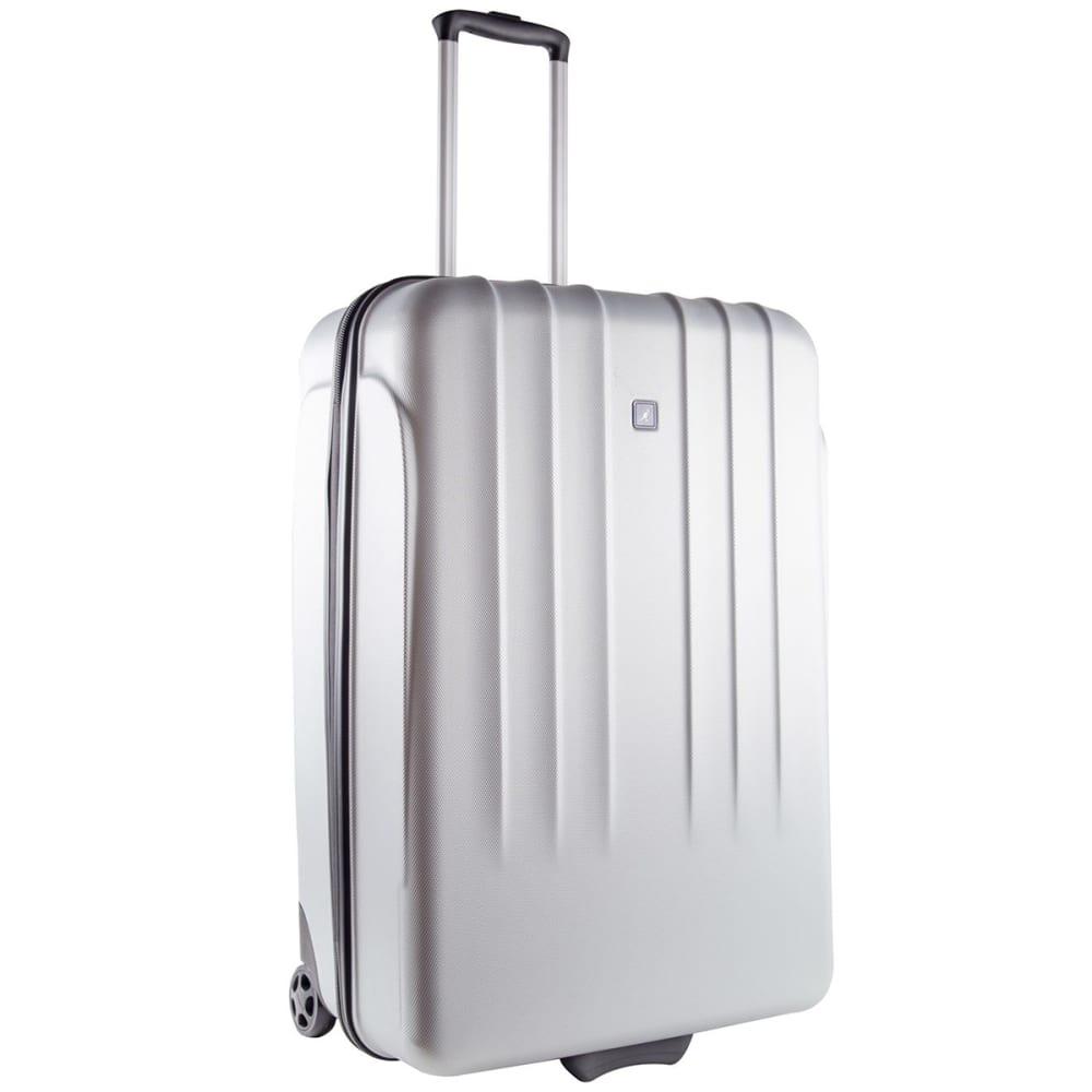 KANGOL 22 in. Hard Suitcase - SILVER