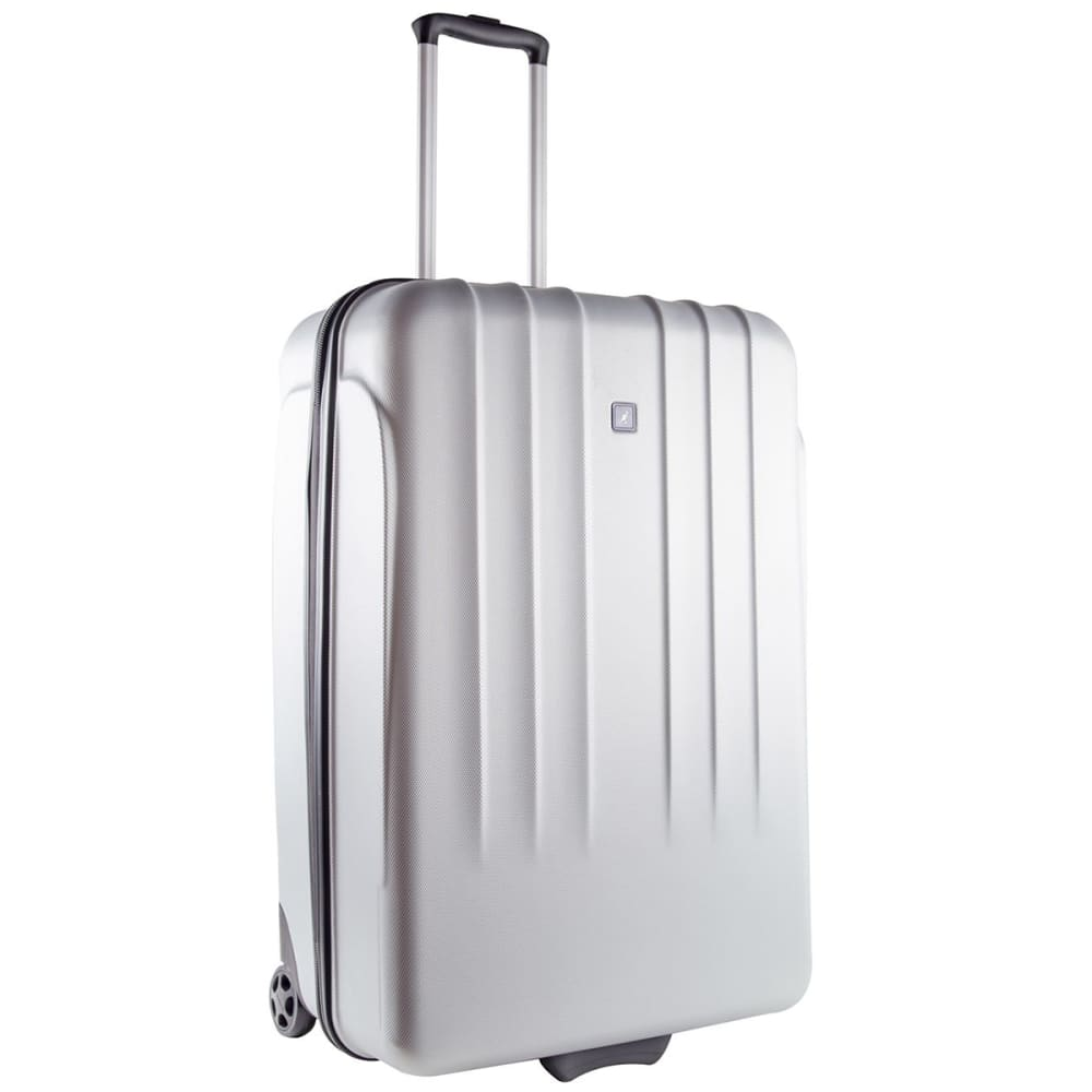 KANGOL 26 in. Hard Suitcase - SILVER
