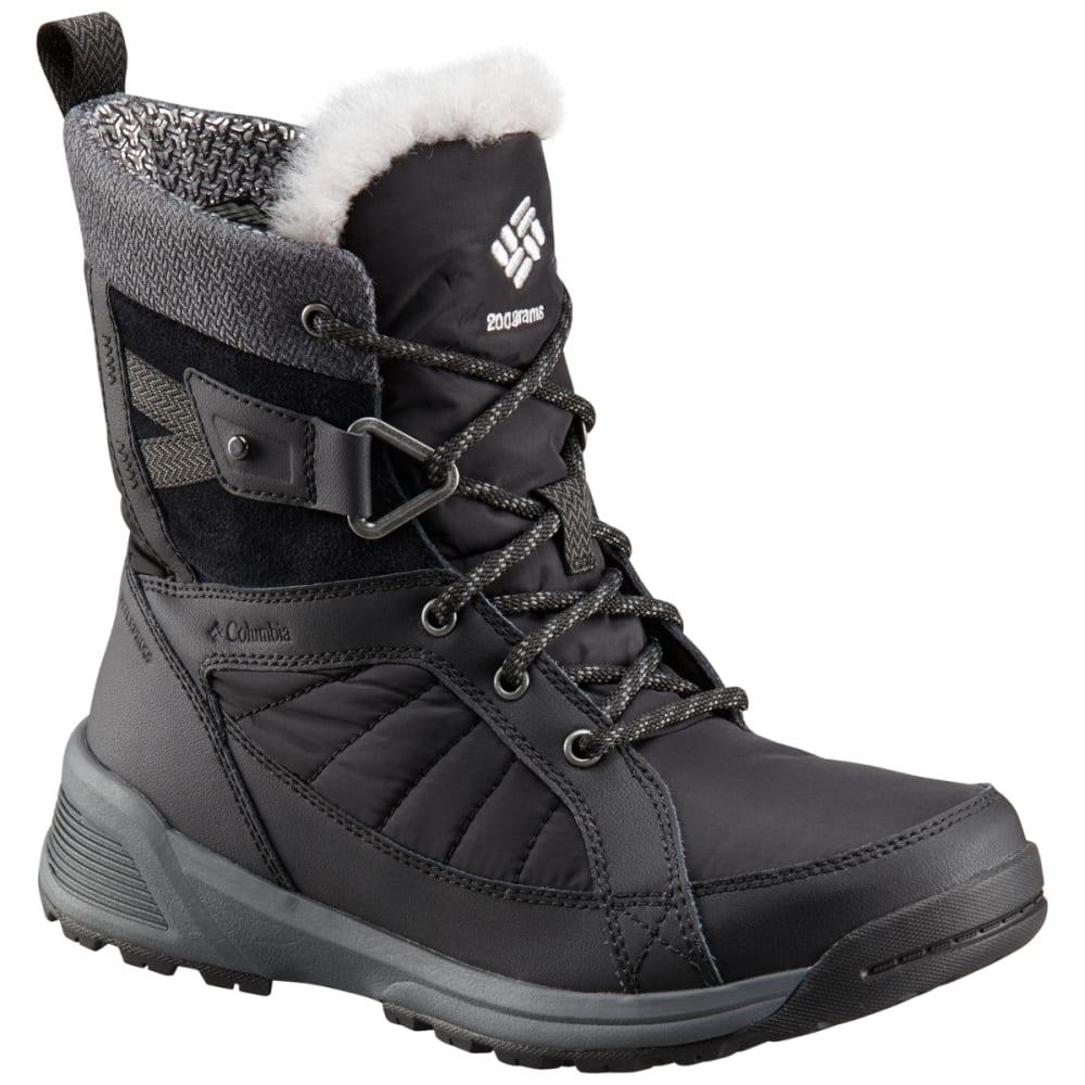 Columbia Women's Meadows Shorty Omni-Heat 3D Insulated Waterproof Winter Boots - Black, 6