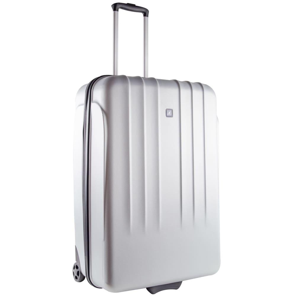 KANGOL 30 in. Hard Suitcase - SILVER