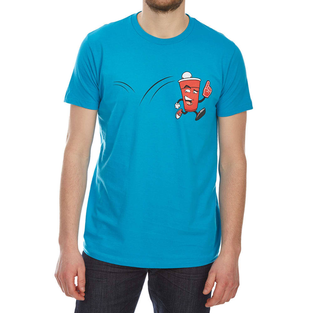 OCEAN CURRENT Guys' Beer Number 1 Short-Sleeve Graphic Tee - TURQUOISE