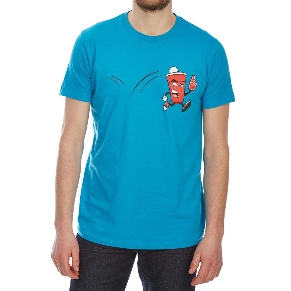 Ocean Current Guys' Beer Number 1 Short-Sleeve Graphic Tee - Blue, L