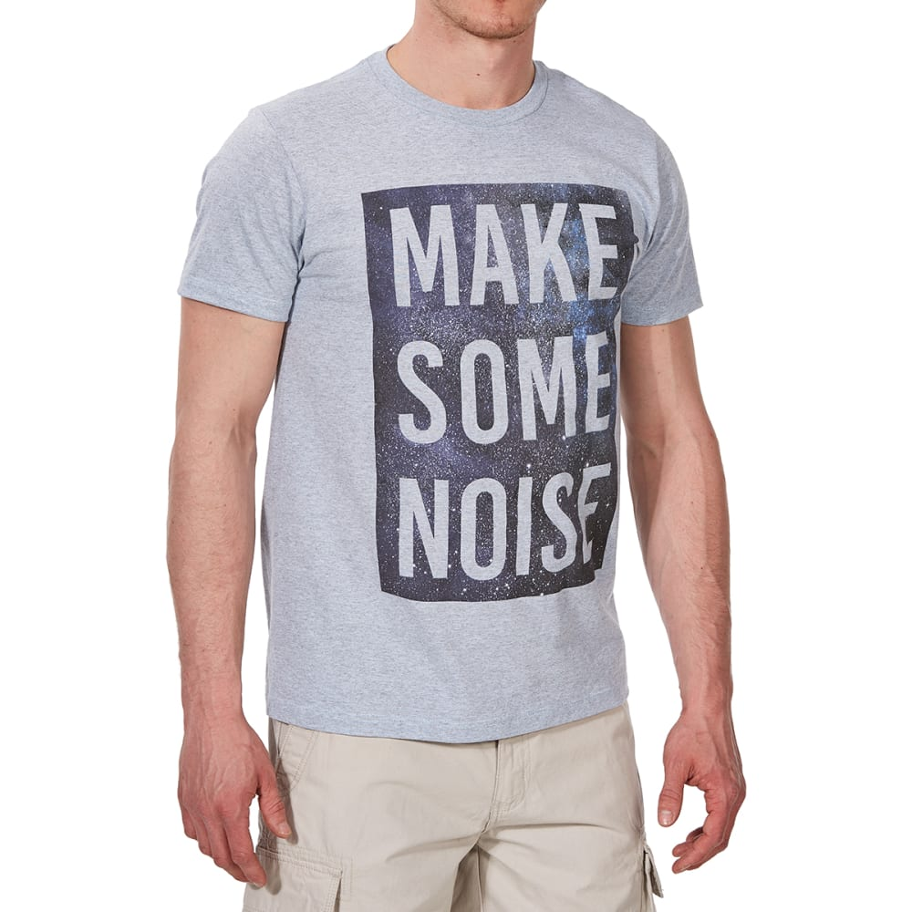 OCEAN CURRENT Guys' Make Some Noise Short-Sleeve Tee - GLACIER