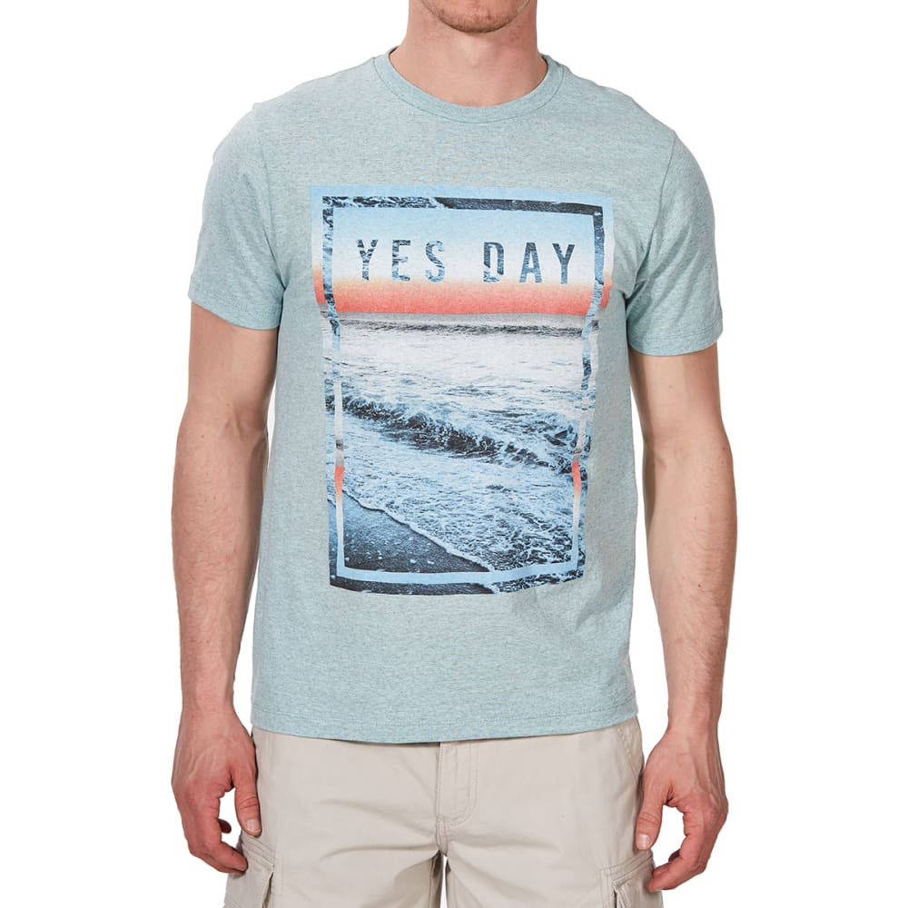 OCEAN CURRENT Guys' Yes Day Short-Sleeve Tee - CORAL
