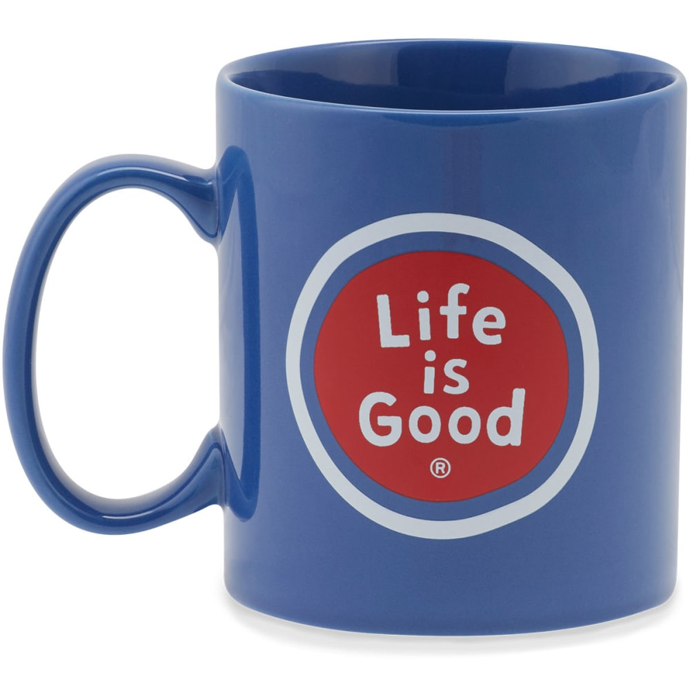 LIFE IS GOOD LIG Sphere Jakes Mug - DARKEST BLUE