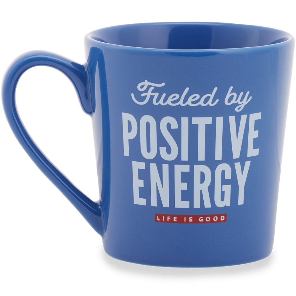 LIFE IS GOOD Positive Fuel Everyday Mug - DARKEST BLUE
