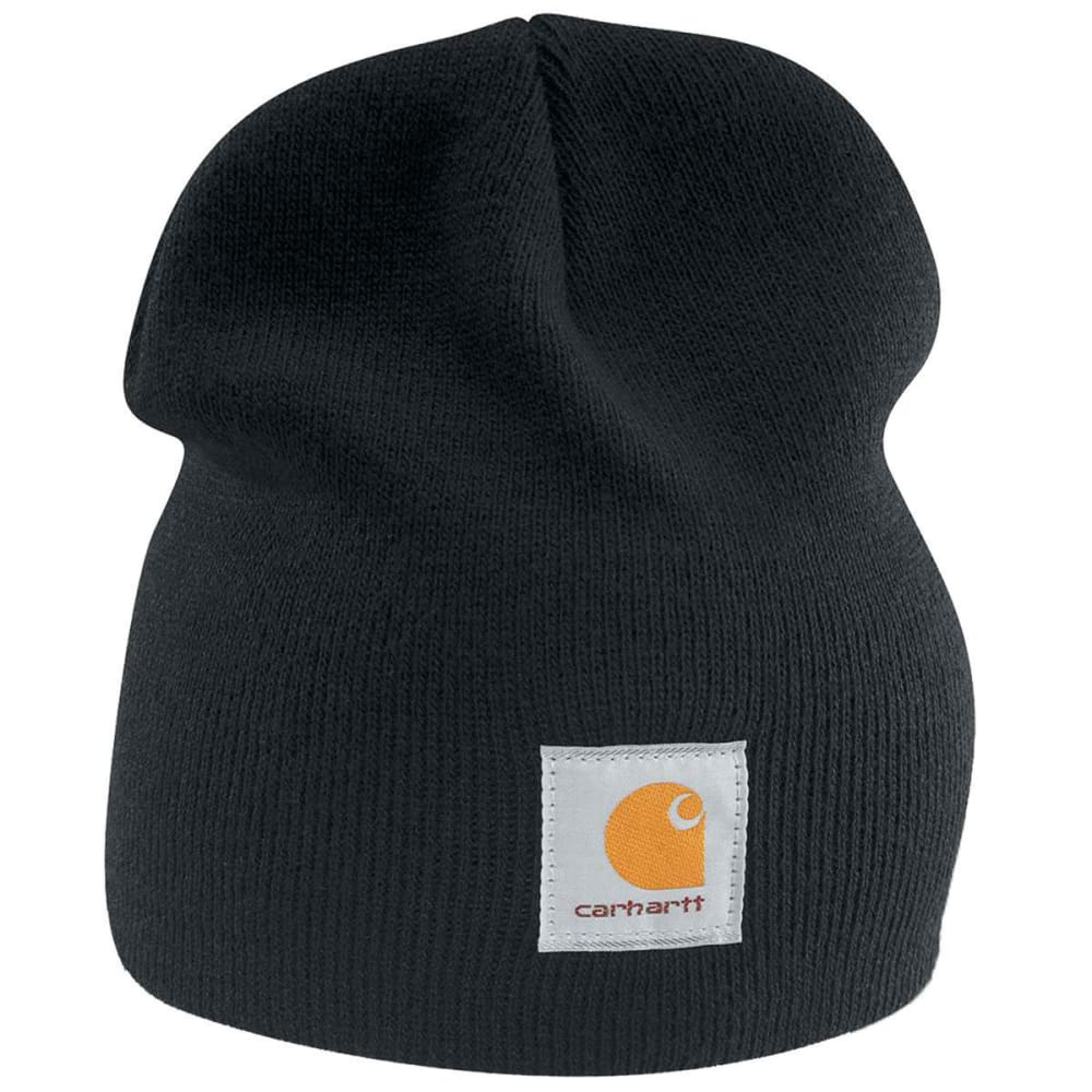 CARHARTT Men's Acrylic Knit Hat - BLACKBLK