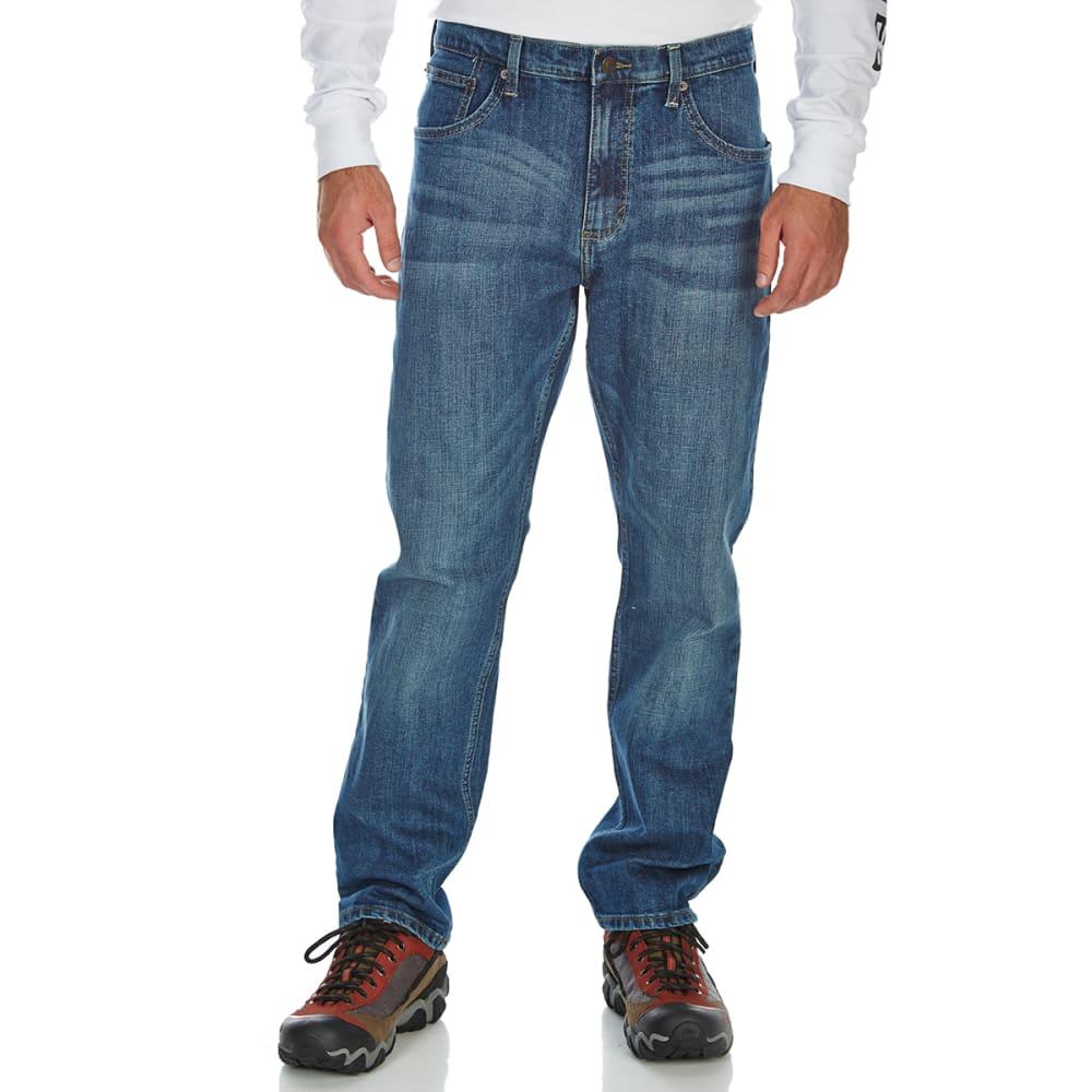 WRANGLER Men's Regular Taper 4-Way Flex Jeans - STEEL BLUE SB