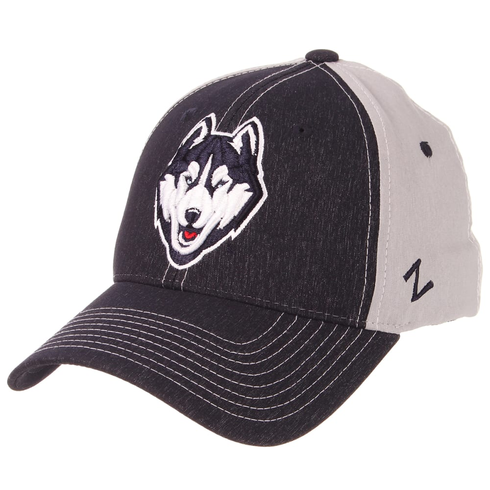 UCONN Men's ZFit Embroidered Cap - NAVY