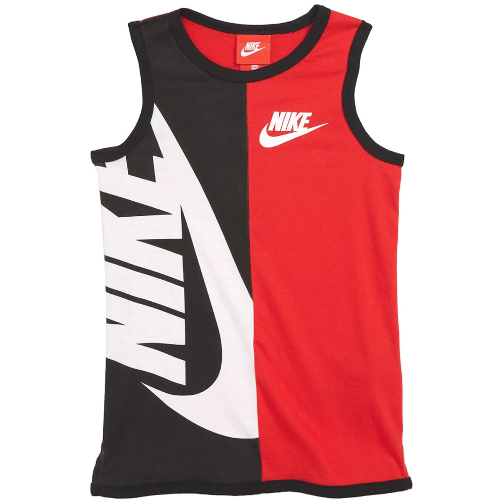 NIKE Little Boys' NSW Graphic Tank Top - UNIVERSITY RED-U10