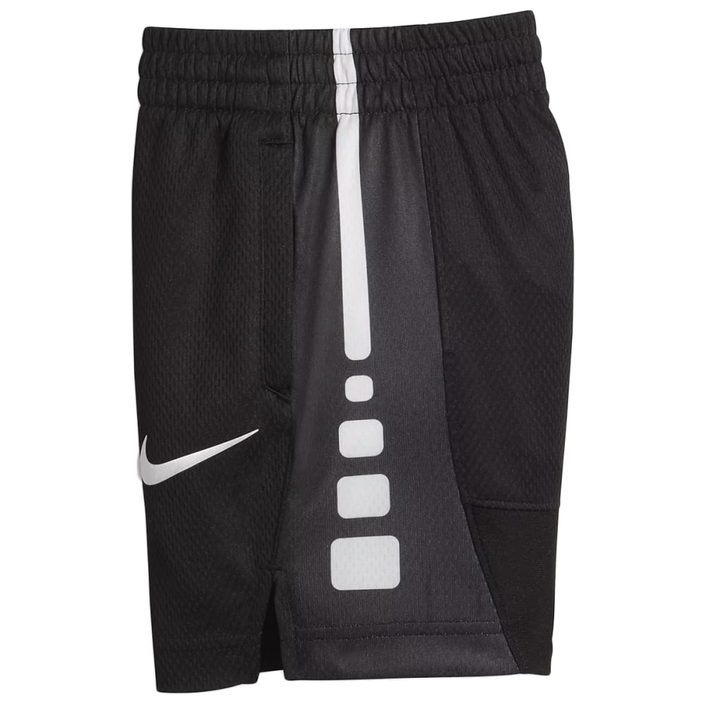Nike Little Boys' Elite Stripe Shorts - Black, 4