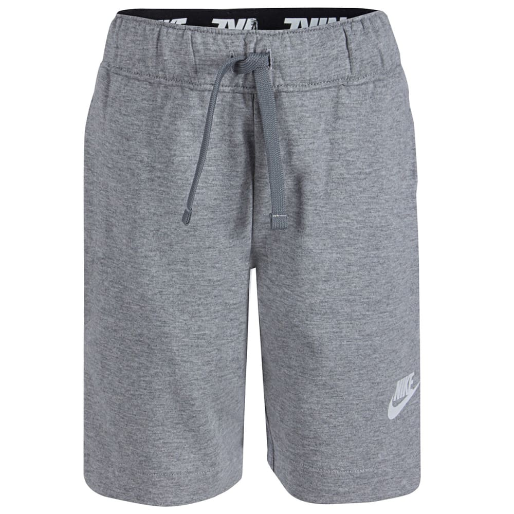 NIKE Little Boys' AV15 Shorts - DARK GRY HEATHER-042