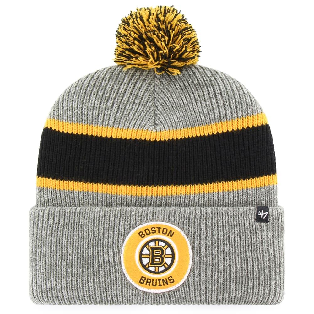 Boston Bruins '47 Noreaster Cuffed Pom Knit Beanie