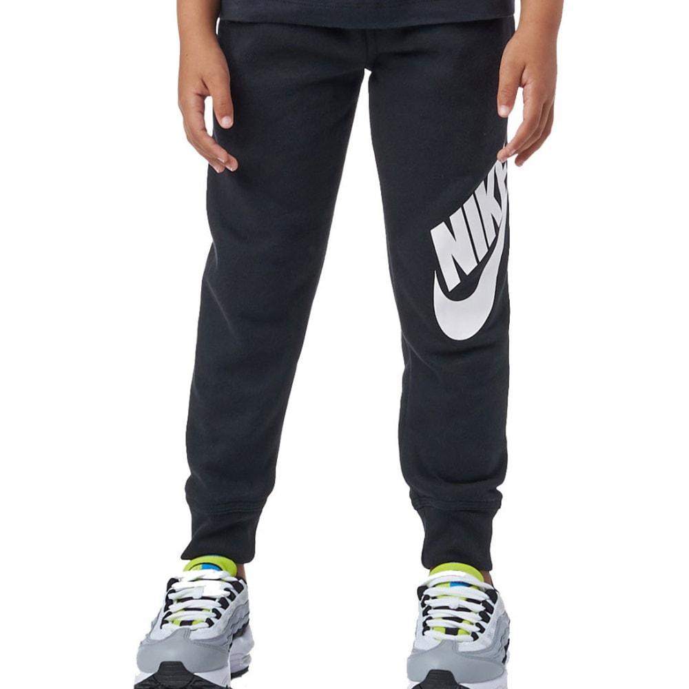 NIKE Little Boys' Futura Fleece Cuffed Pants - BLACK-023