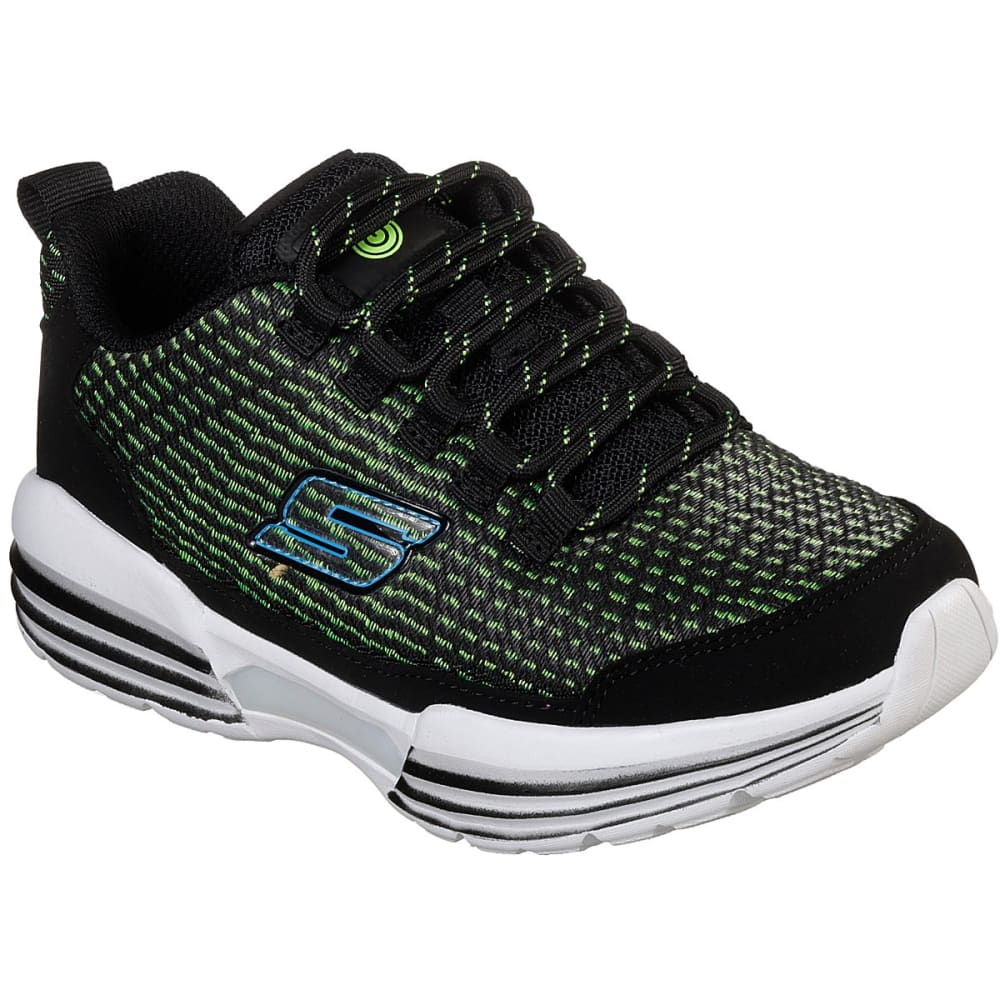 SKECHERS Boys' S Lights: Luminators Sneakers - BLACK-BKLM