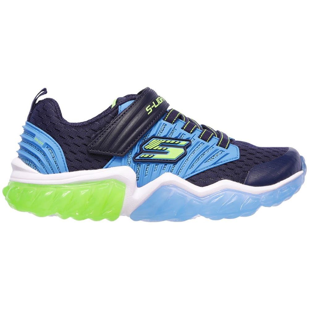 SKECHERS Boys' S Lights: Rapid Flash Sneakers - NAVY-NVBL