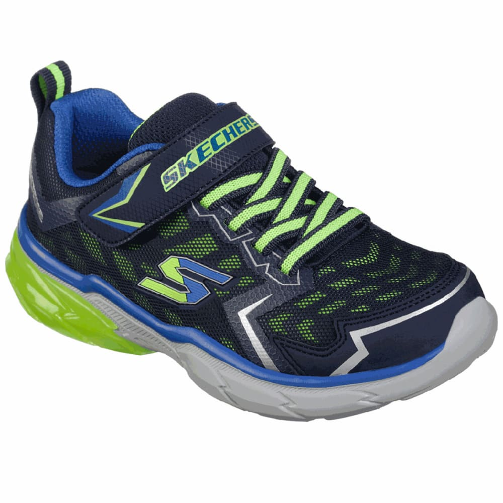 Skechers Boys' Thermoflux - Nano Grid Sneakers - Blue, 2.5