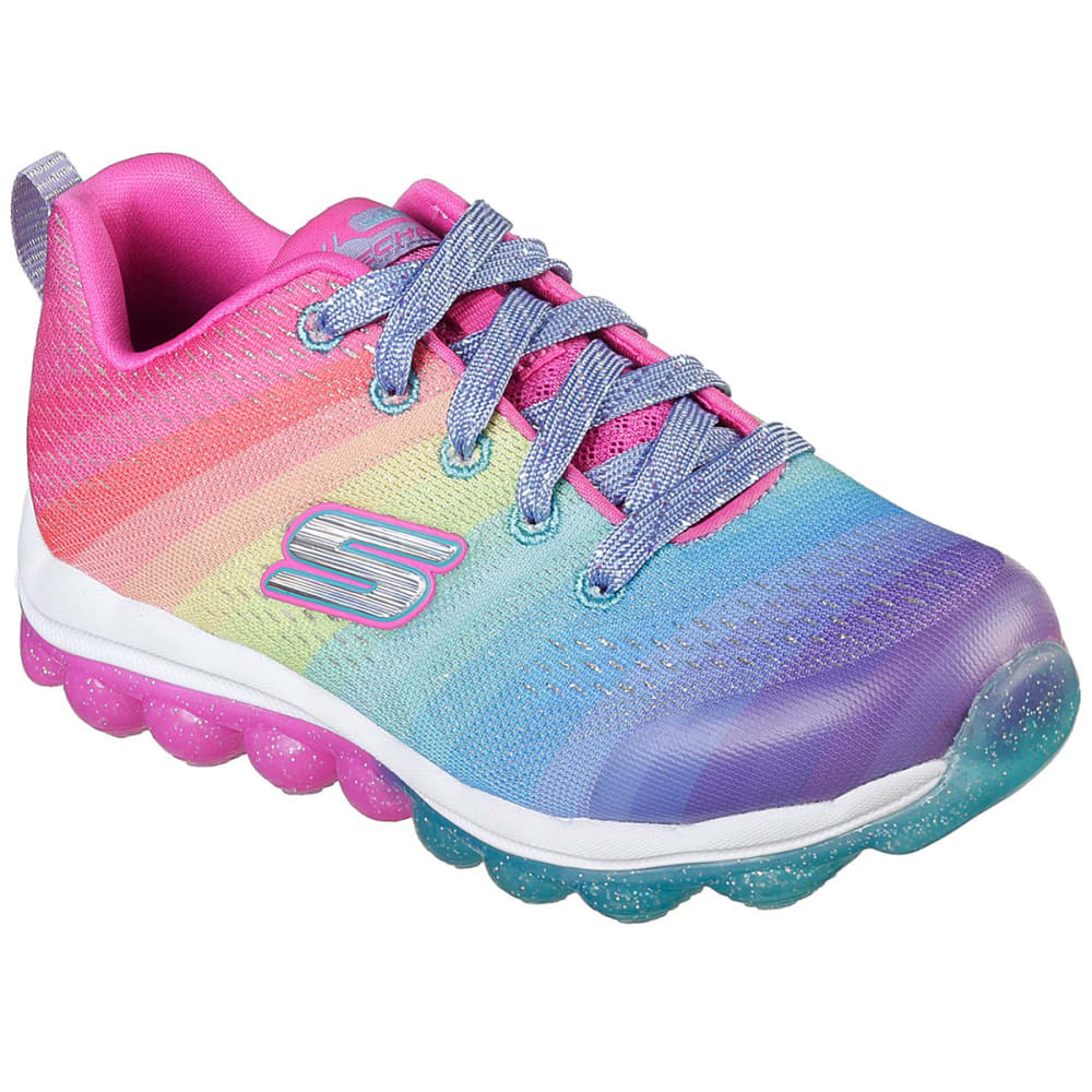SKECHERS Little Girls' Skech-Air - Rainbow Drops Sneakers 3