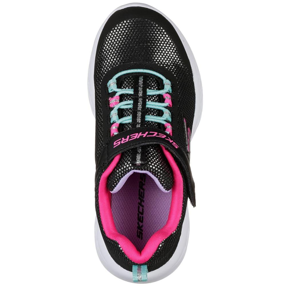 SKECHERS Little Girls' GoRUN 600 - Sparkle Runner Sneakers - BLACK-BKMT