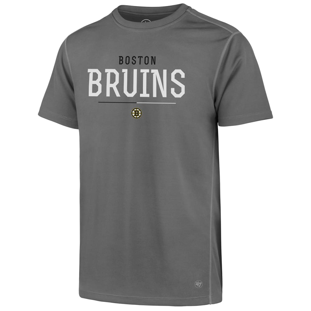 Boston Bruins Men's '47 Phenom Forward Microlite Short-Sleeve Tee - Black, M