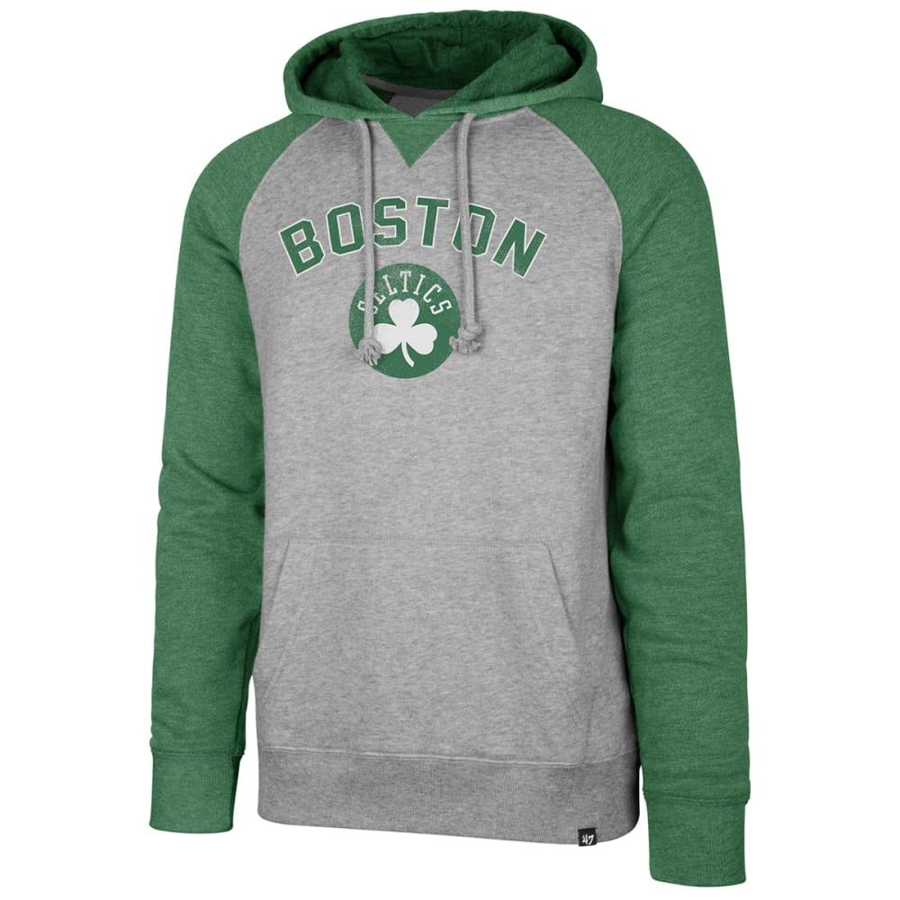 BOSTON CELTICS Men's '47 Match Raglan Pullover Hoodie - GREY